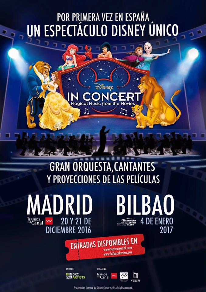 Disney in Concert - Portada