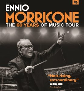 Ennio Morricone - Gira 2016 - The 60 Years of Music Tour - Poster
