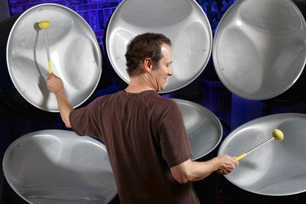 Cliff Martinez with Steel Drums