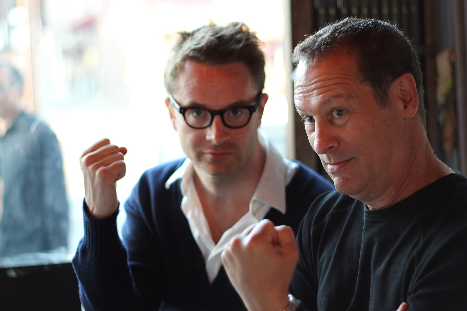 Cliff with Nicolas Winding Refn
