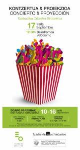 Festival San Sebastian-Concierto 2016-Poster-Vertical