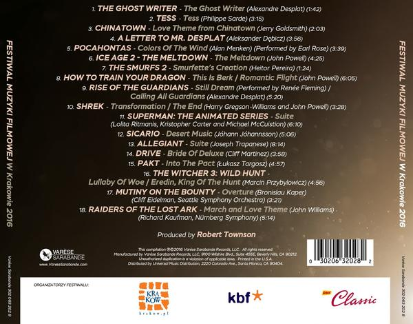 Krakow FMF 2016 CD - Back