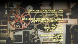 Concierto Grandes Clásicos del Cine - OSG
