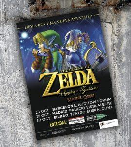 Gira Zelda 2016 - Cartel