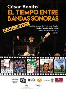 Concierto César Benito - El Tiempo entre Bandas Sonoras-Poster