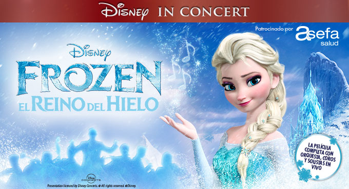 Disney in Concert - Frozen - Cartel