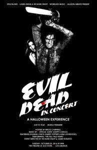 Evil Dead in Concert - Poster