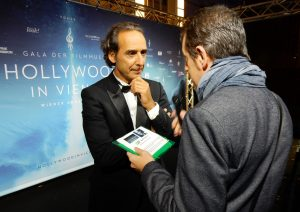 Hollywood in Vienna 2016 - Alexandre Desplat y Gorka Oteiza