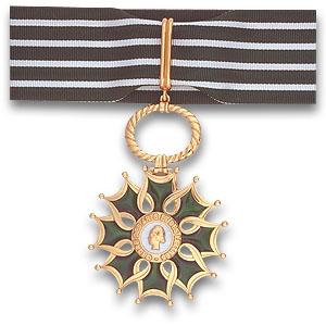 Medal - Commandeur de l'ordre des Arts et del Lettres