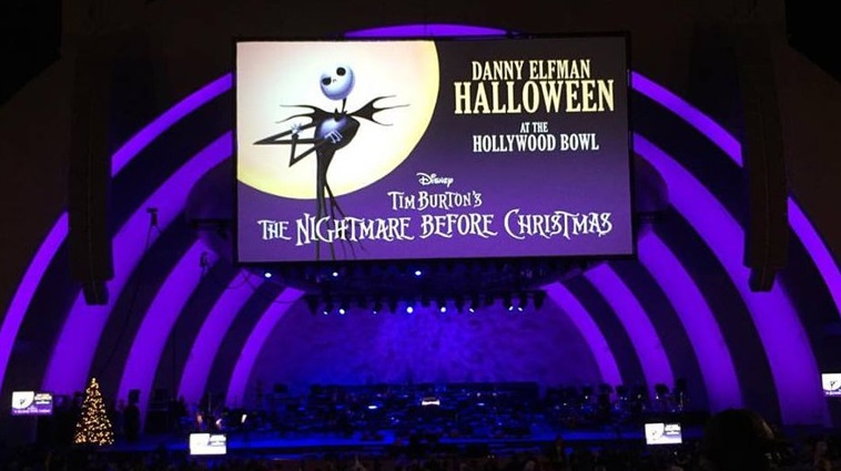 Nightmare Before Christmas 2015 - Hollywood Bowl