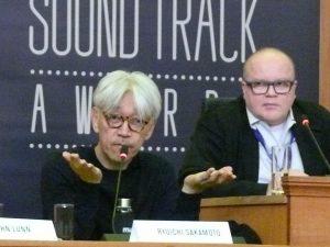 WSA 2016 - Day 3 - Press Conference - Ryuichi Sakamoto