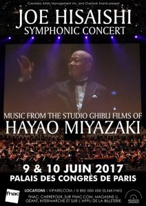 Joe Hisaishi - Paris 2017 - Poster