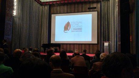 Nicola Piovani Madrid - Award night