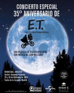 ET concert in Madrid - Poster