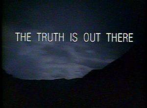 La Verdad está ahí fuera