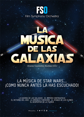 FSO - The Music of the Galaxies 2017 - Poster