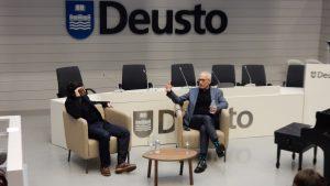 Conference at Deusto University - JNH and Fernando Velázaquez