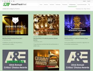 STF - Categoría Premios