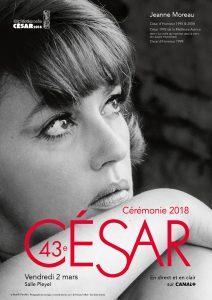 43 Premios César - Poster