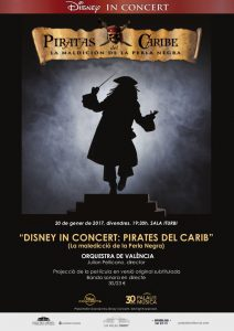 Pirates of the Caribbean - Poster (Valencia)