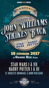 A tribute to John Williams Strikes Back - Poster