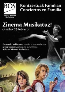 Family concert - Fernando Velázquez - Poster