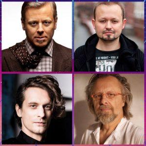 Abel Korzeniowski, Maciej Zieliński, Atanas Valkov, Jan A.P. Kaczmarek
