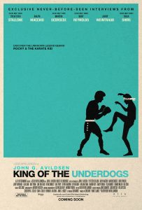 Greg Sims - Entrevista - King of the Underdogs - Poster