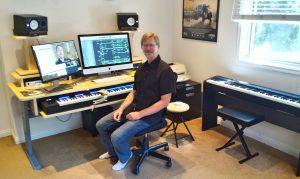 Greg Sims - Entrevista -  Estudio en LA