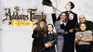 The Addams Family in Concert - Poster