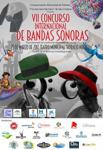VII Concurso Internacional de Bandas Sonoras - Cartel