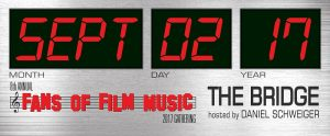Fans of Film Music - 8ª Edición - Banner