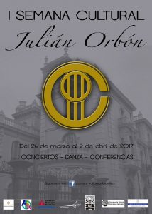 Julian Orbon Conservatory - Cultural Week - Poster