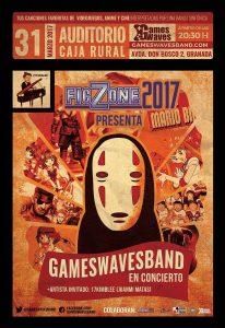 FicZone 2017 - Poster concierto previo