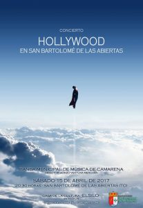 Concierto Hollywood - Poster