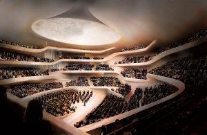 Elbphilharmonie - Sala conciertos