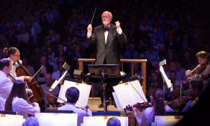 John Williams' Film Night - John Williams conducting (c) Michael Blanchard