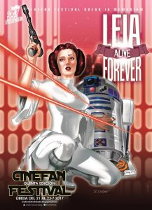 Cinefan Festival Ubeda V - Carrie Fisher (PrincessLeia)