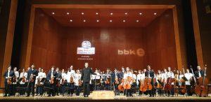 Euskal Herriko Gazte Orkestra - Final del concierto