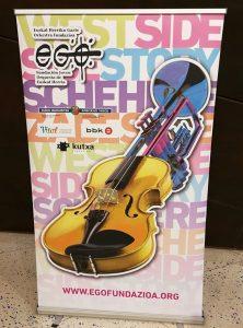Euskal Herriko Gazte Orkestra - Poster del concierto