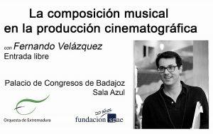 Conferencia Fernando Velázquez - Festival Iberico de Cinema