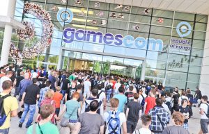 Gamescom - Entrance