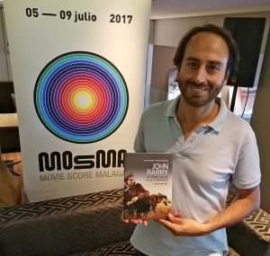 MOSMA 2017 - Day 4 - Sergio Hardasmal - Book about John Barry