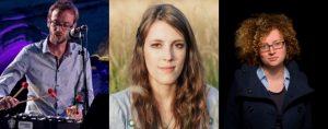 European Talent Award - Martin Chabalier, Jessica Kelly, Emer Kinsella
