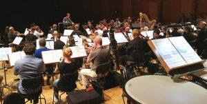 WDR Funkhausorchester & Frank Strobel reheasing