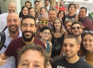 Alumnos del curso 'The Christopher Young Film Scoring Program' en Madrid