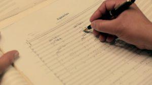 Composing for Aquarius
