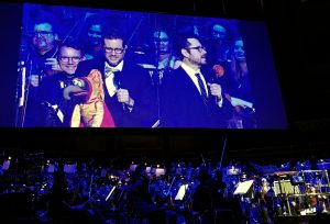 Michael Giacchino at 50 - Gonzo with Michael and JJ