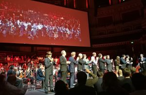 Michael Giacchino at 50 - End of the concert and all guests on stage