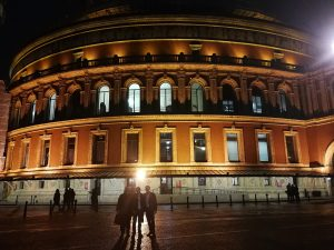Michael Giacchino at 50 - Saliendo del Royal Albert Hall